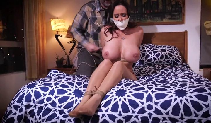 Christina Carter Is A Magnificent Milf Tied In The Building